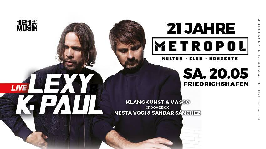 Lexy & K-Paul live
