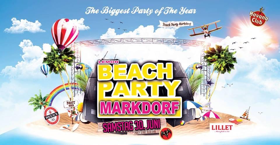 Lemon Beach-Party Markdorf